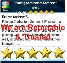 Reviews for Painting Contractors Somerset West